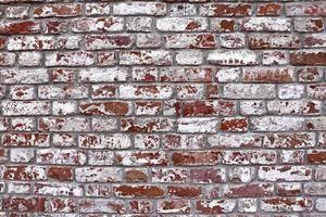 Efflorescence on brick masonry