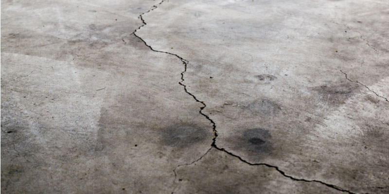 4 Common Reasons There are Cracks in Your Garage Floor