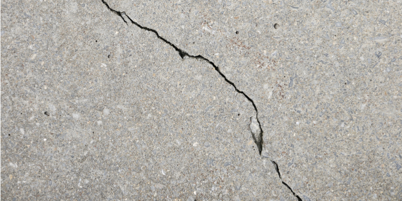 Garage Floor Cracks – What Causes Them?